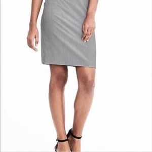 Fitted with Slight flare dress skirt